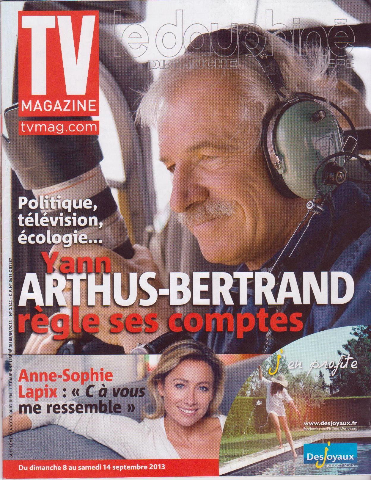 TV Magazine du 08/09/13