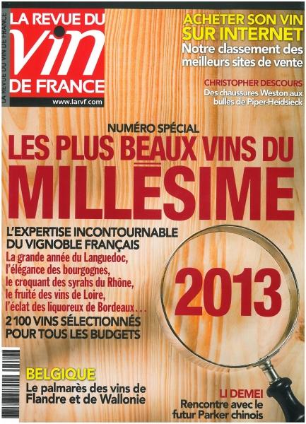 La Revue du Vin de France spécial Millésime 2013 !
